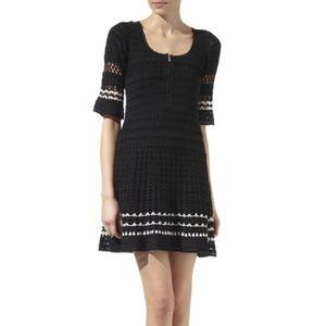 KAREN MILLEN crotchet dress